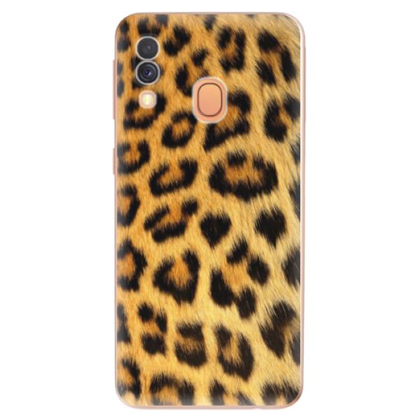 Odolné silikonové pouzdro iSaprio - Jaguar Skin - Samsung Galaxy A40