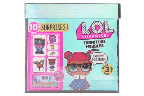 L.O.L. Surprise! Nábytek s panenkou - Třída & Teachers Pet TV