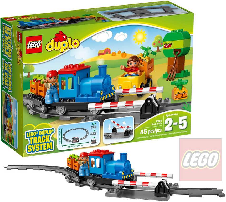 LEGO DUPLO Vláček 10810 STAVEBNICE