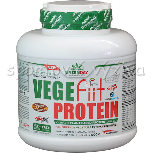 VegeFiit Protein - 2000g-double-chocolate