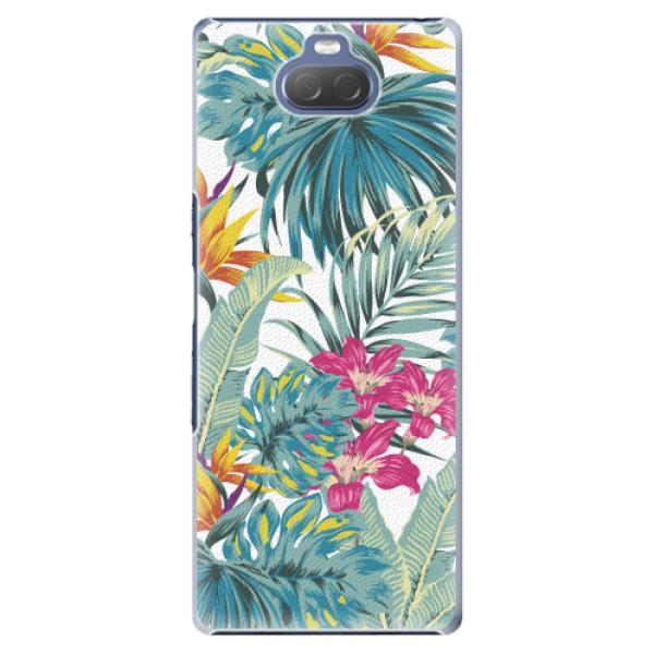Plastové pouzdro iSaprio - Tropical White 03 - Sony Xperia 10