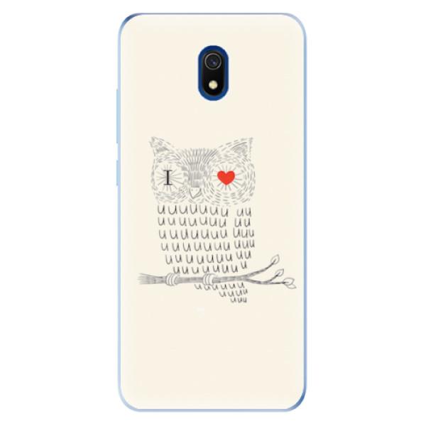 Odolné silikonové pouzdro iSaprio - I Love You 01 - Xiaomi Redmi 8A