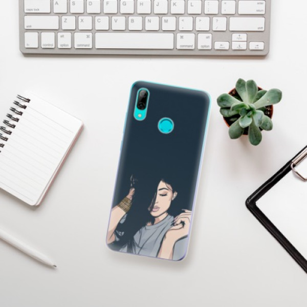 Odolné silikonové pouzdro iSaprio - Swag Girl - Huawei P Smart 2019