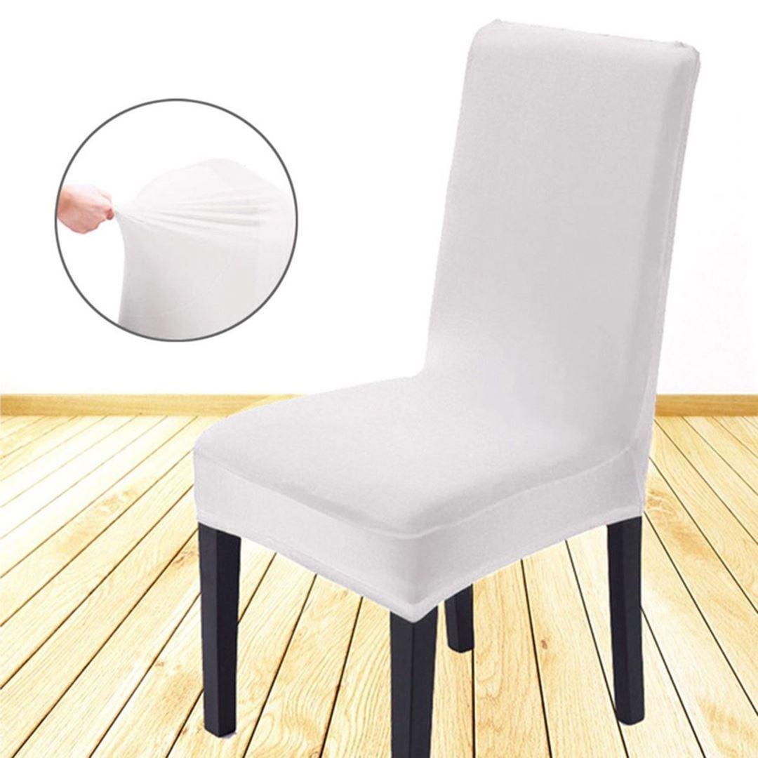 Potah na židli - bílý