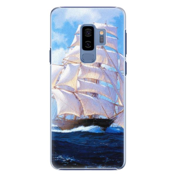 Plastové pouzdro iSaprio - Sailing Boat - Samsung Galaxy S9 Plus