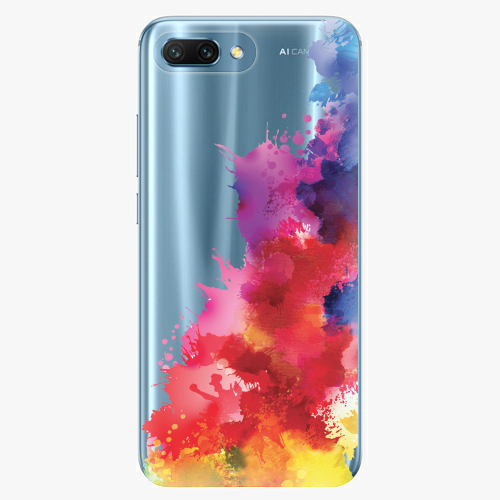 Silikonové pouzdro iSaprio - Color Splash 01 - Huawei Honor 10