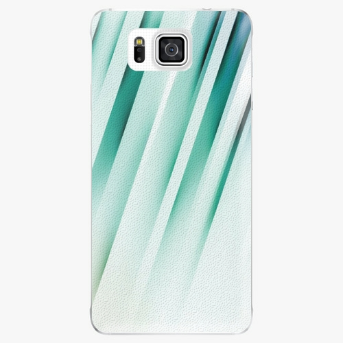 Plastový kryt iSaprio - Stripes of Glass - Samsung Galaxy Alpha