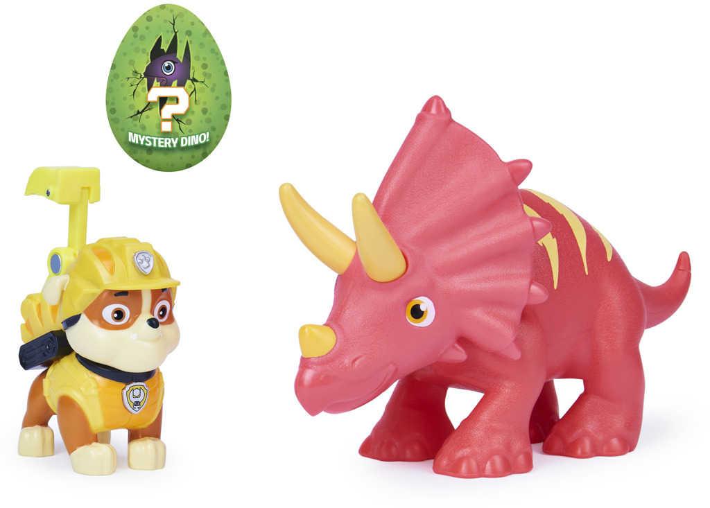 SPIN MASTER Tlapková Patrola set figurka se 2 dinosaury různé druhy plast