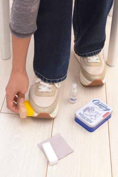 Luxusní sada na čištění obuvi