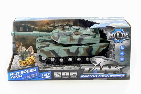 Tank baterie - maskáč tmavý