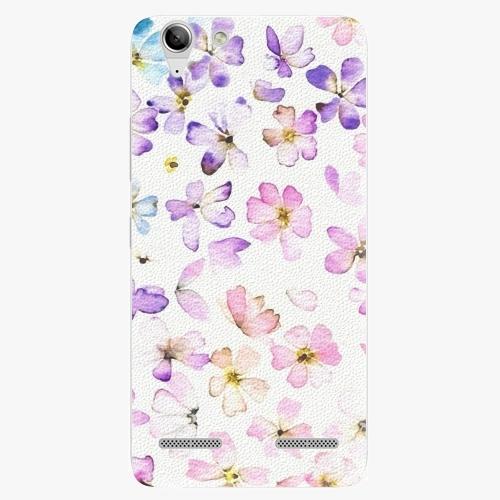 Plastový kryt iSaprio - Wildflowers - Lenovo Vibe K5