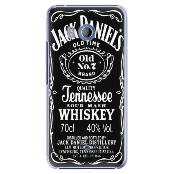 Plastové pouzdro iSaprio - Jack Daniels - HTC U11
