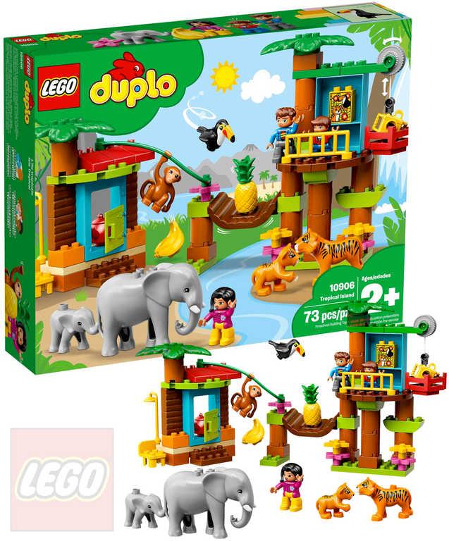 LEGO DUPLO Tropický ostrov 10906 STAVEBNICE