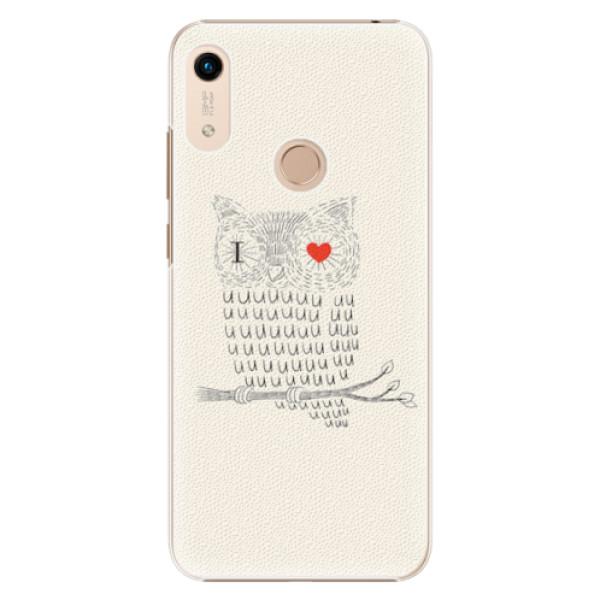 Plastové pouzdro iSaprio - I Love You 01 - Huawei Honor 8A