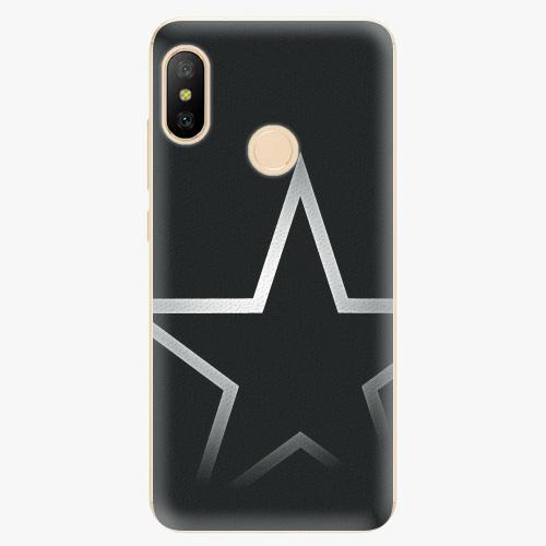 Silikonové pouzdro iSaprio - Star - Xiaomi Mi A2 Lite