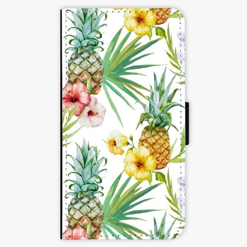 Flipové pouzdro iSaprio - Pineapple Pattern 02 - Huawei Ascend P8 Lite