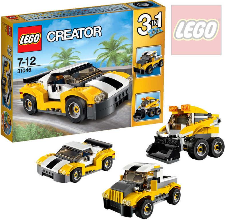LEGO CREATOR Rychlé auto 31046 STAVEBNICE 3v1