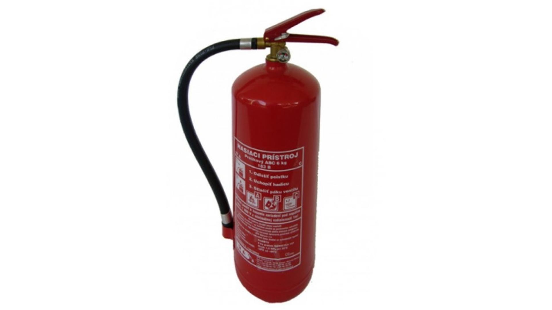 4CARS Fire extinguisher 6kg