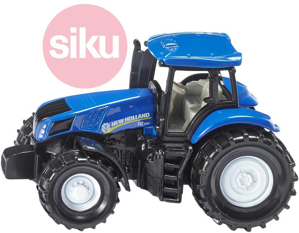 SIKU Model traktor New Holland modrý kov