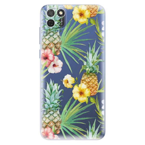 Odolné silikonové pouzdro iSaprio - Pineapple Pattern 02 - Honor 9S