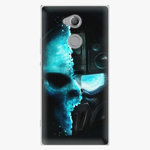Plastový kryt iSaprio - Roboskull - Sony Xperia XA2 Ultra