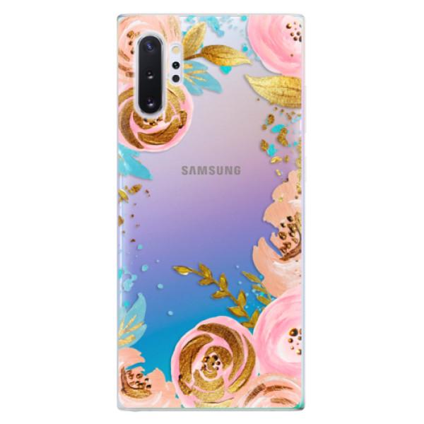 Odolné silikonové pouzdro iSaprio - Golden Youth - Samsung Galaxy Note 10+