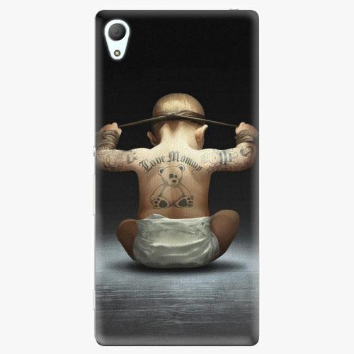 Plastový kryt iSaprio - Crazy Baby - Sony Xperia Z3+ / Z4