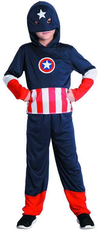 KARNEVAL Šaty Hrdina vel. M (120-130 cm) 5-9 let (Avengers) KOSTÝM