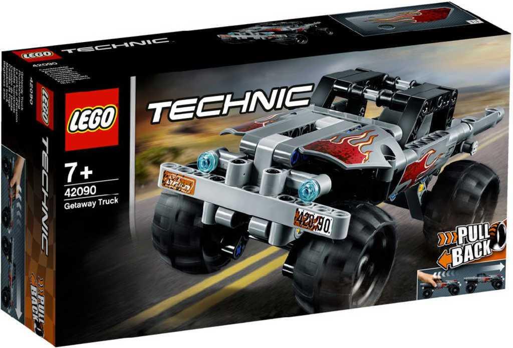 LEGO TECHNIC Útěk v teréňáku 42090