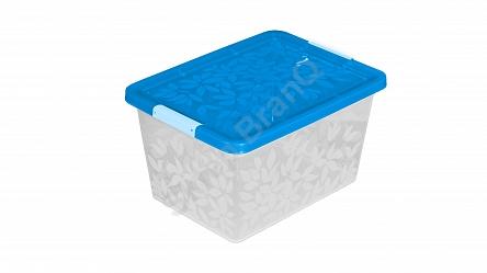 Jasmine- úložný kontejner/box s víkem 33l