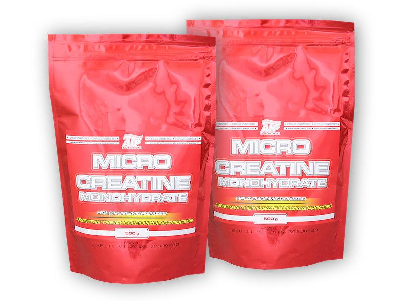 Micro Creatine Monohydrate 555g + 555g