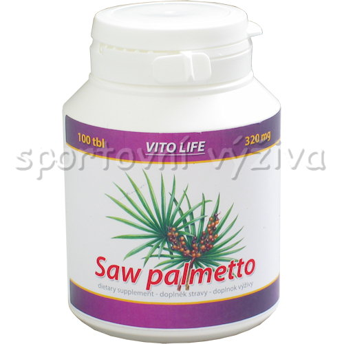 Saw Palmetto 320mg 100 kapslí