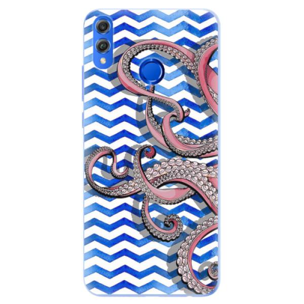 Silikonové pouzdro iSaprio - Octopus - Huawei Honor 8X