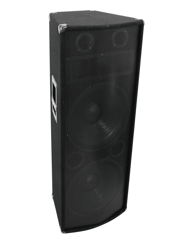 Omnitronic TX-2520, reprobox 500W