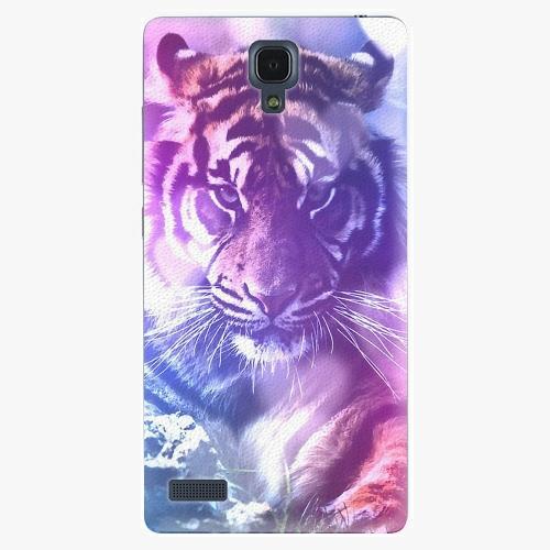 Plastový kryt iSaprio - Purple Tiger - Xiaomi Redmi Note