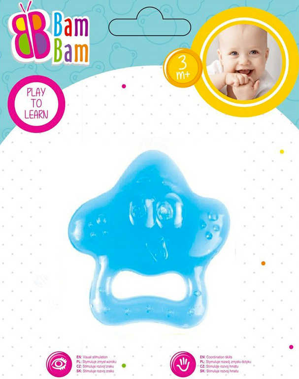 ET BAM BAM Baby kousátko hvězdička pro miminko