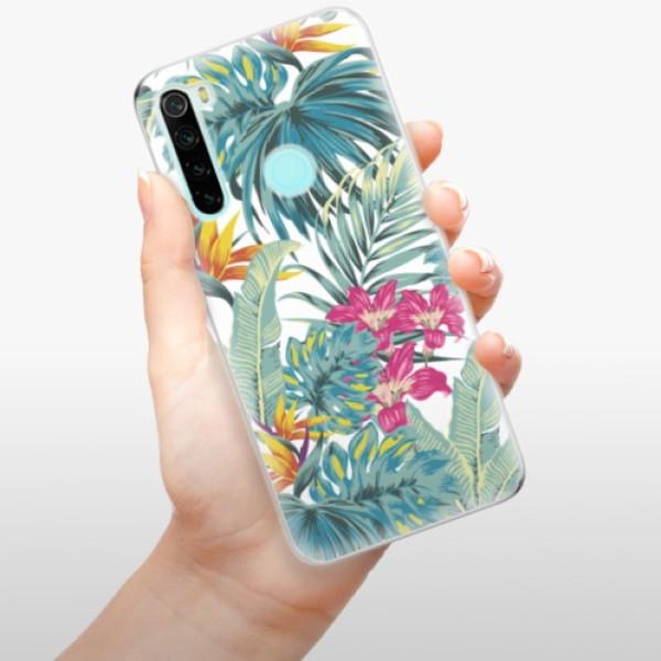 Odolné silikonové pouzdro iSaprio - Tropical White 03 - Xiaomi Redmi Note 8