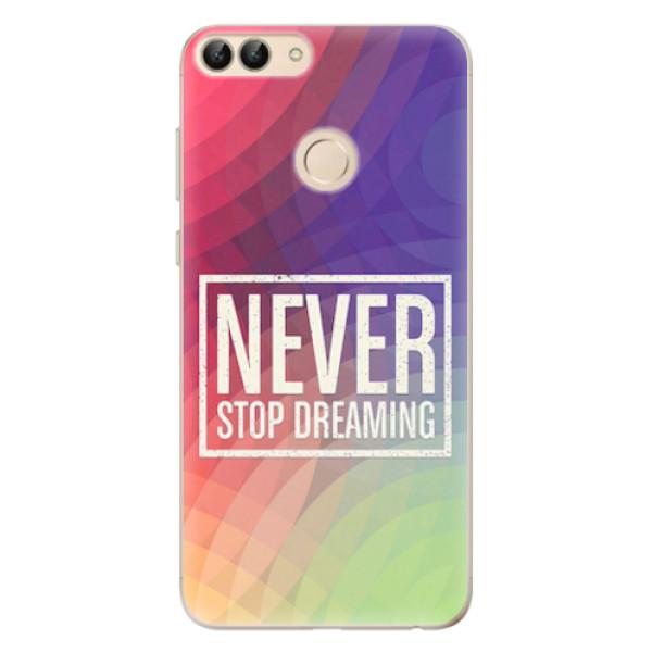 Odolné silikonové pouzdro iSaprio - Dreaming - Huawei P Smart