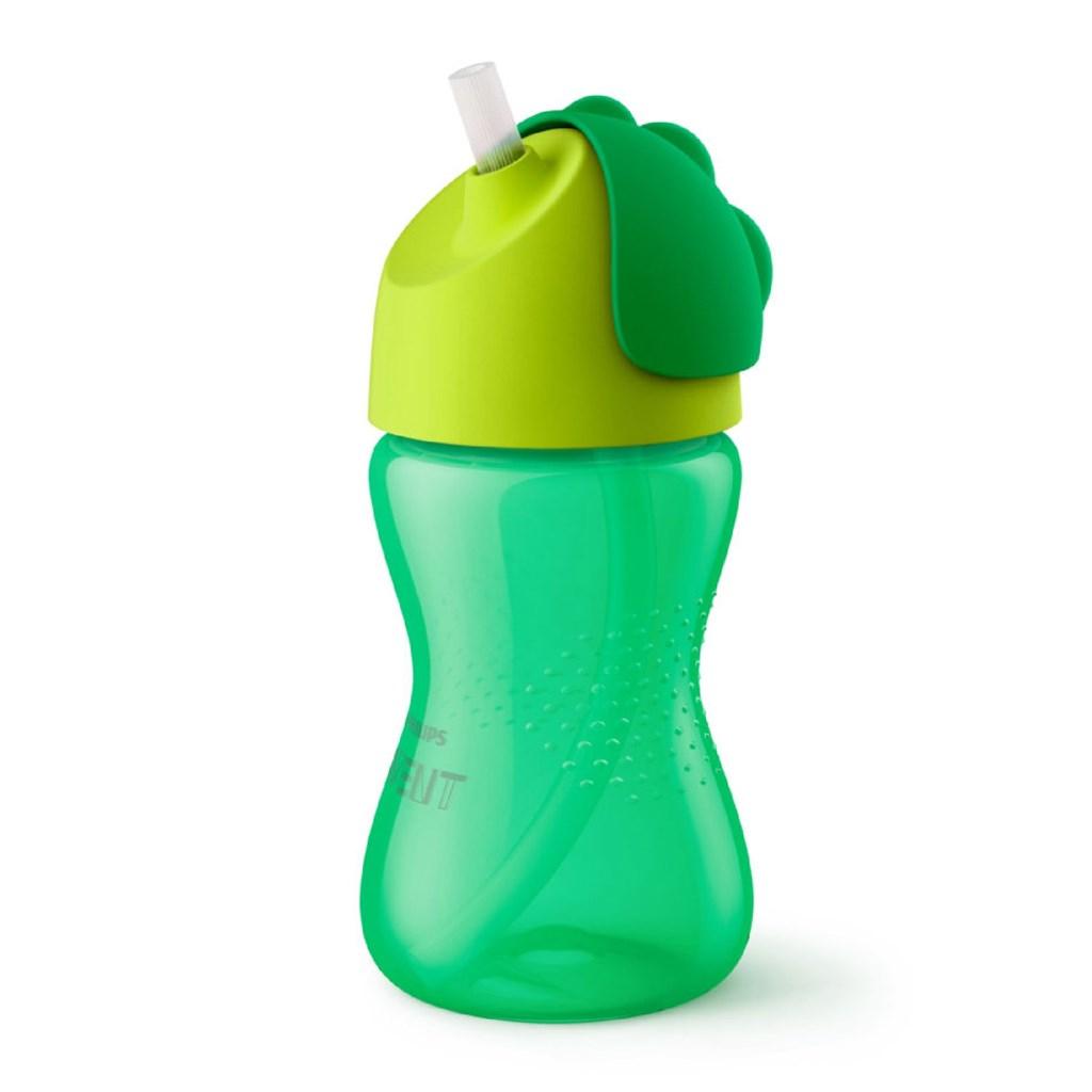 Kouzelný hrneček s ohebným brčkem Avent 300 ml - zelená