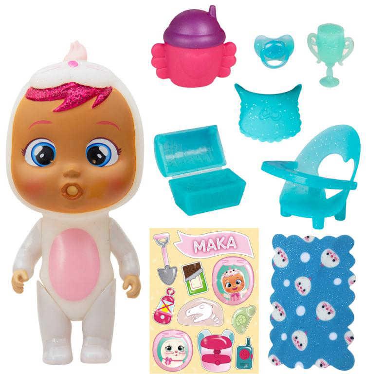 CRY BABIES Magic Tears panenka ronící slzy v domečku s překvapením 2.serie