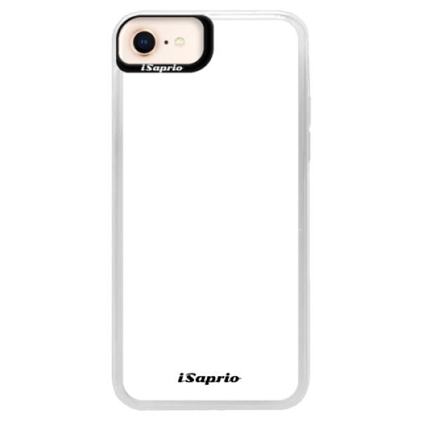 Neonové pouzdro Blue iSaprio - 4Pure - bílý - iPhone 8