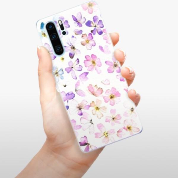 Odolné silikonové pouzdro iSaprio - Wildflowers - Huawei P30 Pro