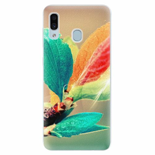 Silikonové pouzdro iSaprio - Autumn 02 - Samsung Galaxy A30