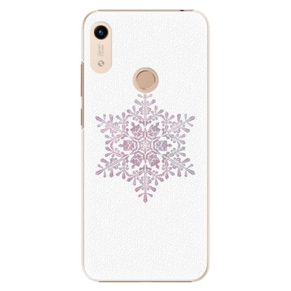 Plastové pouzdro iSaprio - Snow Flake - Huawei Honor 8A