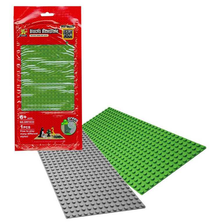 AUSINI Podložka náhradní pro stavebnice 25x13cm plastová 2 barvy