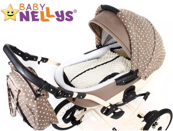 Fusák nejen do autosedačky Baby Nellys ® MINKY - mátový
