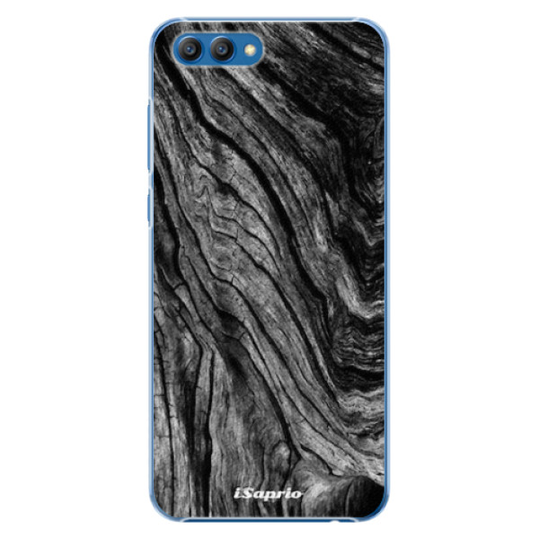 Plastové pouzdro iSaprio - Burned Wood - Huawei Honor View 10