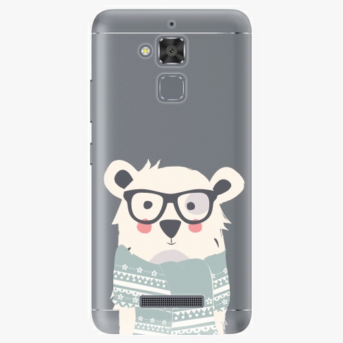 Plastový kryt iSaprio - Bear with Scarf - Asus ZenFone 3 Max ZC520TL