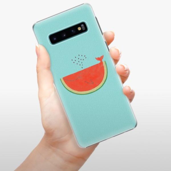 Plastové pouzdro iSaprio - Melon - Samsung Galaxy S10