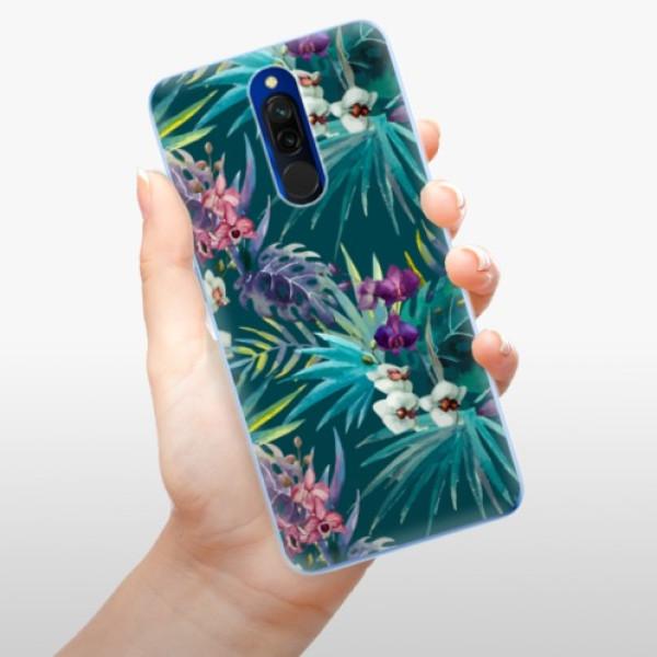 Odolné silikonové pouzdro iSaprio - Tropical Blue 01 - Xiaomi Redmi 8